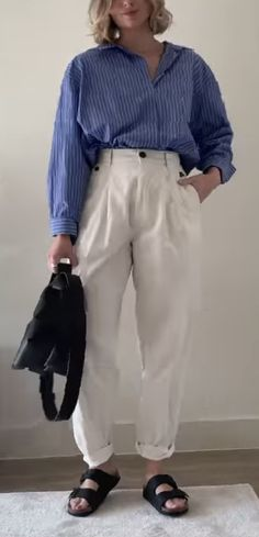 Mode Birkenstock, Normcore, Pants, Style, Fashion, Trouser Pants, Swag, Moda, Fashion Styles