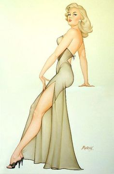 I want to get dressed up and take a pin up pose like this!!