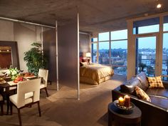 Studio Apartment. Nice.