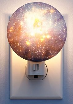 This moon night light is perfect for a baby nursery.