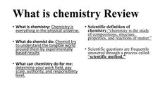 What Is Chemistry, Chemistry Review, Definitions, Physics, Composition, Study, Math Equations, Studio, Studying