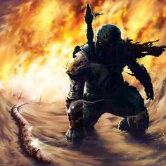 Fett Emerges from the Sarlacc