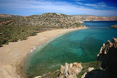 Vai Beach. Crete, Greece