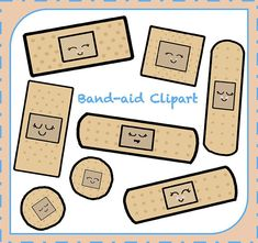 Sale! Band-aid Clipart, First Aid Clipart, Safety Clipart, Clipart png, Digital Clipart, Graphic, Instant Download