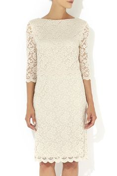 Stone Over Layer Lace Dress