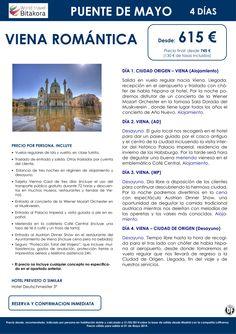 VIENA Romantica especial Puente de Mayo desde 615€ + tasas ultimo minuto - http://zocotours.com/viena-romantica-especial-puente-de-mayo-desde-615e-tasas-ultimo-minuto/