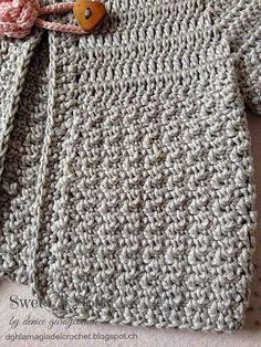 La Magia del Crochet: SAQUITO PARA BEBÉ