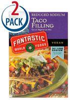 Fantastic Foods Taco Filling Mix -- 4.4 oz - Vitacost