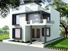Indian Home Design Plans Elegant front elevation designs for duplex houses in… – House