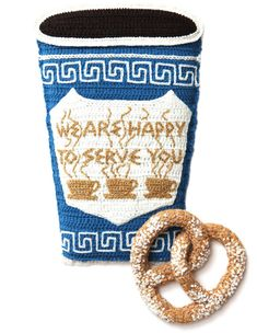 7 Art Kate Jenkins Crochet Nouriture Food MaxiTendance com Crocheted Art par Kate Jenkins : Fast Food et Plats en Crochet