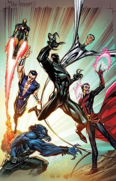 New Avengers by J. Scott Campbell
