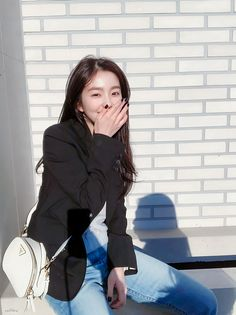 """she's so beautiful"" Seulgi, Smart Casual Outfit, Casual Outfits, Sooyoung, K Pop, Irene Red Velvet, Mode Ulzzang, Velvet Fashion, South Korean Girls"