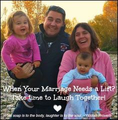 Messy Faces, Happy Families: Prescription for a Vibrant Marriage...More Laughter