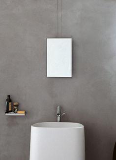 espejos de diseño para baños Agape #espejos #espejosdiseño #espejosmodernos #espejosparabaño