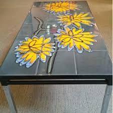 Image result for tile and chrome retro coffee table Retro Coffee Tables, Home Decor Furniture, Tile, Chrome, Image, Mosaics, Tiles, Backsplash