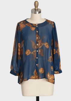 ShopRuche.com New Opportunities Floral Blouse