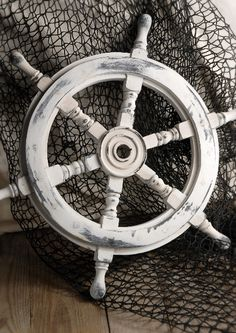 ships wheel, would love one for our bedroom