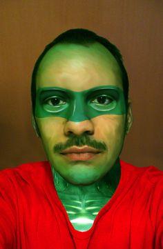 "Hal Jordan aka ""Green Lantern"""