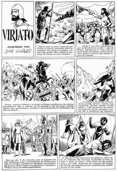 BDBD - Blogue De Banda Desenhada: BD E HISTÓRIA DE PORTUGAL (5) - VIRIATO Manila, History Of Portugal, Counting, Singing, King, History Activities, Performing Arts, Inclusive Education, Roman Empire