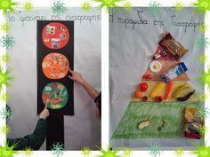 Παίζω και μαθαίνω στην Ειδική Αγωγή : Το Φανάρι και η Πυραμίδα της Υγιεινής Διατροφής Greek Language, Food Pyramid, Kindergarten, Healthy Recipes, Healthy Food, Blog, Kids, Education, Activities