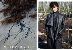 VITO VERGELIS campaign FW15/16 photos: Zuza Krajewska, model: Charlotte Tomaszewska #vitovergelis #fashionbrand #polskamarka #zuzakrajewska #blackcoat