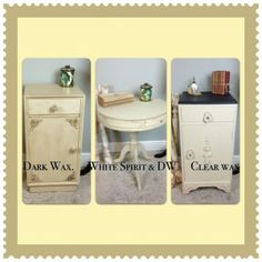 Dark Wax: Everything You'll Ever Need To Know. If you are new to Shabby Chic & want to find out more about the art of Dark waxing, check out our blog! Whether you are using Annie Sloan Chalk Paint, Autentico, Laura Ashley, it really doesn't matter. The results are just amazing! This How To blog shows you how! www.chicmouldings.com