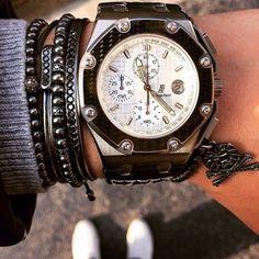 Audemars Piguet & Anil Arjandas jewels #watch #watchporn #wristgame…