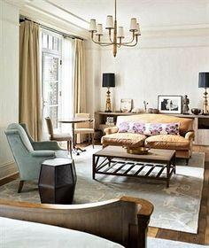greenwich hotel - farlane chandelier