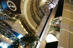 The Atrium, MSC Divina – First Impressions of the MSC Divina from the USA | Popular Cruising (Image Copyright © Jason Leppert)
