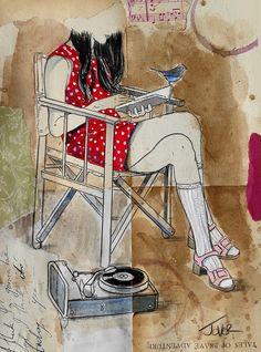 vinyl by Loui Jover