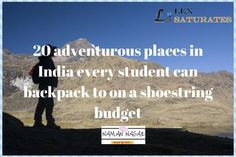 adventurous-places    FIND THE BEST PLACES FOR WHICH YOU CAN PACK YOUR BAGS EVEN IF YOU ARE SHORT WITH MONEY.    ENJOY   CLICK TO READ MORE Read More, More Fun, Pack Your Bags, The Good Place, Budgeting, Student, Good Things, Let It Be, Make It Yourself