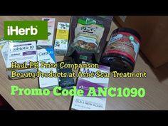 iHerb Haul PH: Price Comparison, Promo Code at Treatment for Acne Scars [Taglish] Price Comparison, Acne Scars, Philippines, Coding, Youtube, Youtube Movies, Programming