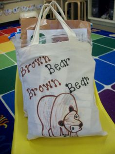 This teacher lists her resources for her literacy bags.  A lot of these are classic read-alouds...I bet I could find a bunch secondhand!  Then I wouldn't be too upset if a book didn't make it back to school...