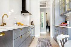 scandinavian grey and white #kitchen