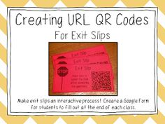 Part Creating URL Codes I'm continuing my series on QR Codes. Since my last post covered what QR Codes are, how to create them,. School Fun, School Classroom, School Ideas, Google Classroom, Middle School, Qr Codes, Bring Your Own Device, Math Bulletin Boards, Engage In Learning