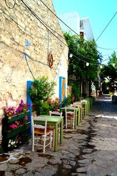 Samos island Greece Pythagorion