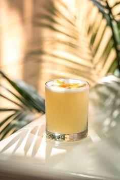 Sunrise/Sunset (Mezcal, Ginger and Grenadine Cocktail) + Giveaway — A Thought For Food Summer Drinks, Cocktail Drinks, Cocktail Recipes, Drink Recipes, Rose Cocktail, Cocktail Attire, Craft Cocktails, Summer Food, Orange Party
