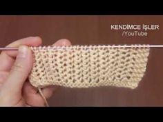 Çift Taraflı File Örgü Modeli - New Knitting Pattern - YouTube