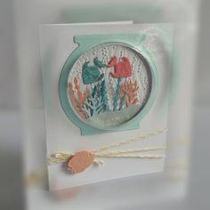 Fish, fish bowl, seaweed - Lisa Horton