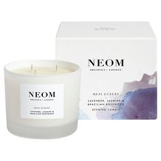 Neom Real Luxury 3 Wick Candle, 420g £45