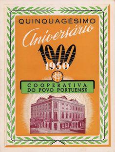 Livro editado pela CSSPP em 1950, quando comemorava 50 anos de vida. 1950, Cover, Books, Book, Life, Libros, Book Illustrations, Libri