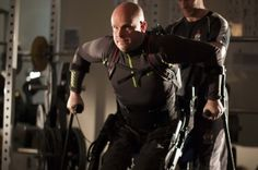 By stimulating the spine, this exoskeleton helps paralyzed people re-learn how to walk