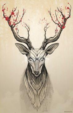 Image of Deer tree