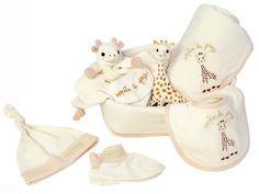 [Vulli ヴュリ]キリンのソフィー So' PURE ナチュラルコレクション 出産準備7点セット ソフィー・シリーズ[So'Pureコレクション]、生まれたばかりの赤ちゃんを迎えるのにぴったりの新生児7点セット。