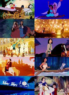 How a Disney Princess gets around