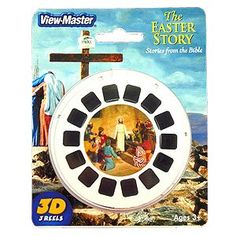 The Easter Story 3D View-Master 3 Reel Set - Stories From The Bible, 2015 Amazon Top Rated Viewfinders #Toy