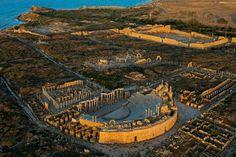 Leptis Magna. Libya.