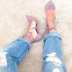 Steve Madden 'Raela' Lace Up Heels