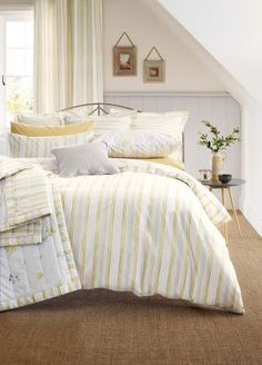 BOUGHT      Buy 2 Pack Cotton Rich Ochre Ditsy Floral Bed Set from the Next UK online shop