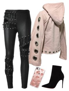 A fashion look from November 2016 featuring brown hoodie, lace-up pants and black heeled boots. High Fashion Outfits, Dope Fashion, Sexy Outfits, Chic Outfits, Womens Fashion, Runway Fashion, Outing Outfit, Cute Comfy Outfits, Future Fashion